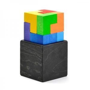 木のおもちゃ 積み木 GRIMM'S GMキューブ・エル GM10181