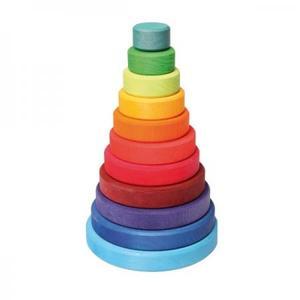 木のおもちゃ 積み木 GRIMM'S グリムス スタッキングタワー・大 GM11000