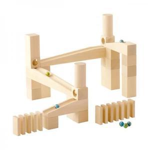 木のおもちゃ 玉ころがし 積み木 HABA ハバ 組立てクーゲルバーン・スターターセット HA112