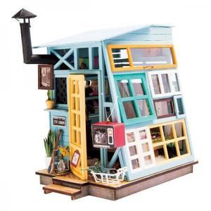 DIY つくるんです! ちょっと小ぶりなミニチュアハウスキット ミニハウス 木の小屋 DGM03【日
