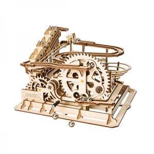 DIY つくるんです! Robotime 3Dウッドパズル コースターマーブルパルクール LG501