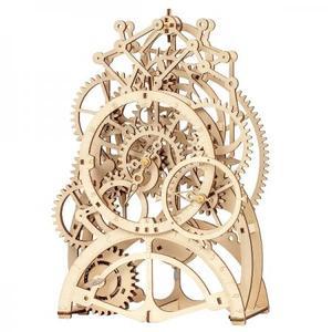 DIY つくるんです! Robotime 3Dウッドパズル 振り子時計LK501【日本語説明書付き】