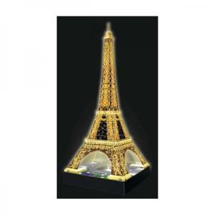 立体ジグソーパズル ラベンズバーガ― 光る3Dパズル エッフェル塔 ナイトエディション(216ピース