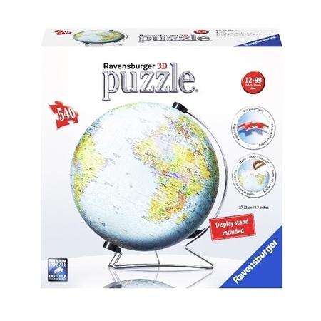 立体パズル ジグソーパズル ラベンズバーガ― 3Dパズル 地球儀 (540ピース)