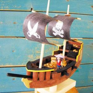 木工工作キット 船工作 小学生 アイスタジオ 海洋ものがたり CC20