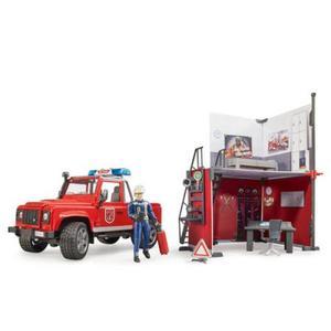 はたらく車 情景セット bruder ブルーダー b-world 消防署セット 62701