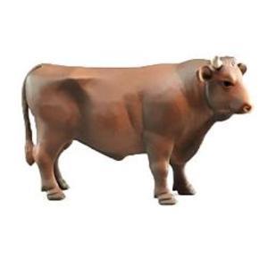 はたらく車 牧畜 農業 フィギュア BRUDER ブルーダー 牛フィギュア(茶)02309