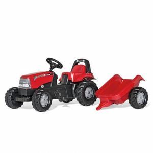 乗用 農業 rolly toys ロリートイズ Caseキッズ トレーラー付き 012411