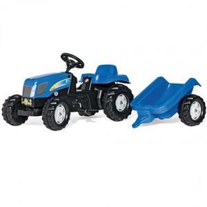 乗用 農業 rolly toys ロリートイズ ニューホランドキッズ トレーラー付き 013074