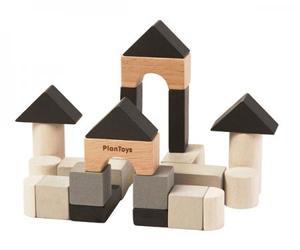 木のおもちゃ ゲーム 積み木 PLANTOYS プラントイ 組み立てあそび 4129
