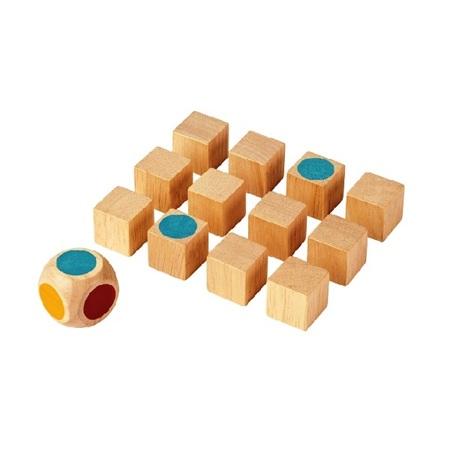 木のおもちゃ ゲーム インテリア PLANTOYS プラントイ メモリーゲーム(缶入り)4128