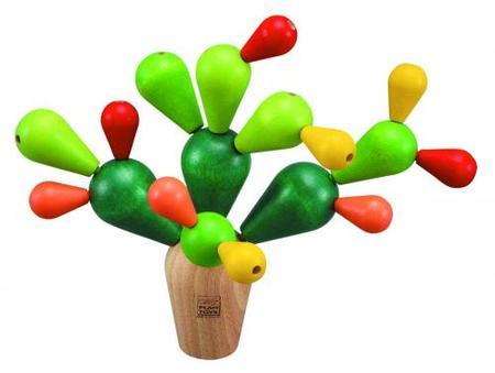 木のおもちゃ ゲーム インテリア PLANTOYS プラントイ サボテンバランスゲーム