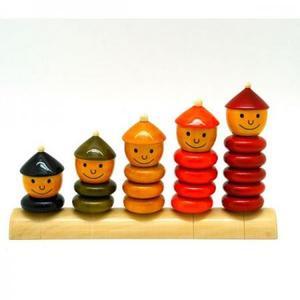木のおもちゃ フェアトレード マヤ・オーガニック Peppy Five(ペピーファイブ)