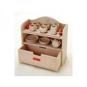 木のおもちゃ ままごと キッチン 木製 だいわ ミニままごとセット 97969