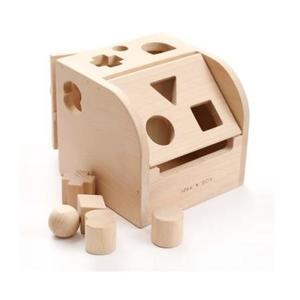 木のおもちゃ かぎ遊び 積み木 だいわ アイデアBOX