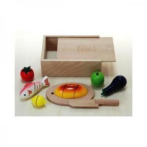木のおもちゃ ままごと だいわ 包丁屋さんAセット 97965