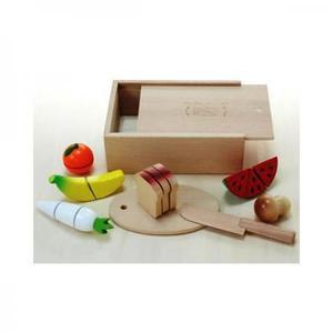 木のおもちゃ ままごと だいわ 包丁屋さんCセット 97967