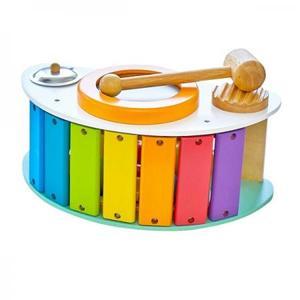 木のおもちゃ 知育玩具 アイムトイ ロッキングアクティビティ IM-30150