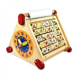 木のおもちゃ 知育玩具 アイムトイ 6in1アクティビティセンター IM-30100