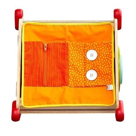 木のおもちゃ 知育玩具 アイムトイ 指先ラーニングBOX IM-30090