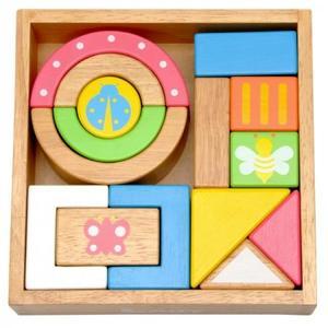 積み木 木のおもちゃ エデュテ SOUNDブロックス LA-002