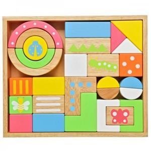 積木 木のおもちゃ エデュテ SOUNDブロックス LARGE LA-008
