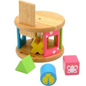 積み木 木のおもちゃ 知育玩具 エデュテ KOROKOROパズル LA-001