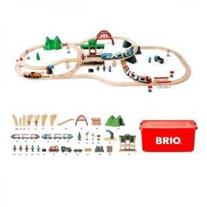 汽車レール BRIO ブリオ 2020年クリスマス限定レールセット 80000-132